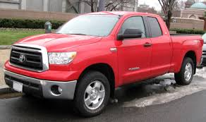 2014 Truck Comparison Chart Toyota Tundra Wikipedia