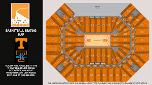Thompson Boling Arena Concert Seating Chart Thompson Boling Arena Seating