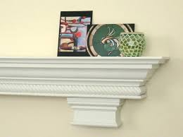 mantel shelf custom fireplace corbels rope molding crown painted mantle wood diy mantel shelf fireplace
