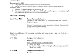 Sample Canadian Resume Format sample resume format for canada jobs Goalblocketyco 41