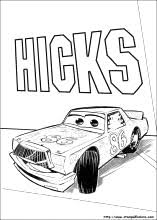 Disegni Di Cars 3 Da Colorare Con Disegni Di Cars 3 E Chick Hicks M