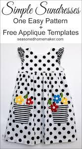 Simple Toddler Dress Pattern Interesting Design Ideas