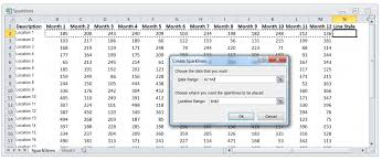 Spark Charts Excel Spark Lines Excel Tutorial Excel Launchpad