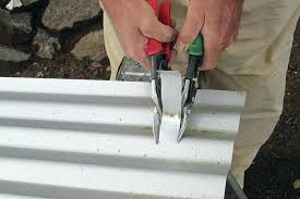 how to cut corrugated metal how to cut corrugated metal roof how to cut sheet metal