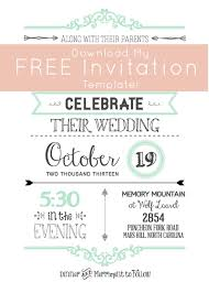 Free Downloadable Wedding Invitation Templates Email Invitations Wedding Invitation Templates Free Download Free 29