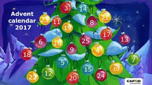 CAFOD's Primary Schools Advent Calendar 2017