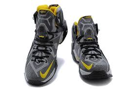 lebron shoes 2015 black. 2015 new nike lebron xii ep mens james basketball shoes black yellow n
