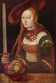 enter image description here judith by lucas cranach