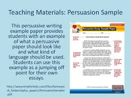 teaching students to write a persuasive essay acirc % original writing a good college admissions essay questions