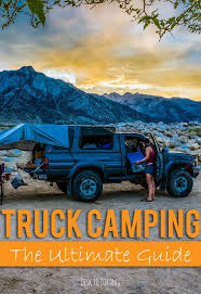 Truck Camping – A Guide to Outfitting and Living in the Back of Your ...