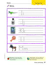 © contributed by leanne guenther. Writing Ii Jj Kk Ll Mm Worksheet For Kindergarten 1st Grade Lesson Planet
