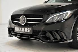 Brabus Mercedes-Benz C-Class Package Is a Mild Approach ...