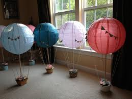 beautiful how to make hot air balloon centerpiece in beececbcffbc