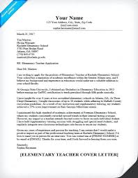 16 Example Of Application Letter For Primary Teacher