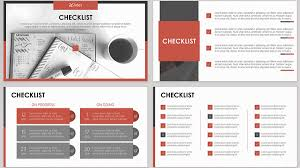 Checklist Design Template Free Digital Checklist Slides Powerpoint Template Designhooks