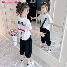 Phiên bản Hàn Quốc của bé trai và gái quần áo mùa hè 2021 bộ đồ trẻ em kiểu  tây mới màu đỏ lưới thời trang ngắ