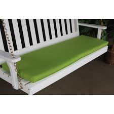 Coral Coast Lakeside 55 x 18 Outdoor Porch Swing & Bench Cushions