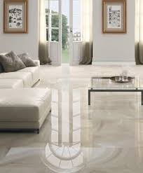 Marble Flooring For Modern Living Room With Sectionals Sleeper Sofa