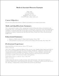 Career Objective For Healthcare Administration Resume