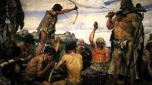 كيف كان يعيش الإنسان في العصر الحجري - طب 21