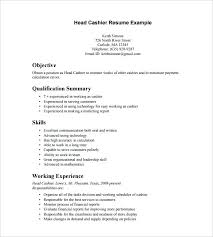what to put on resume for cashier experience we collected simple cashier  resume templates for your