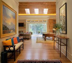 tables for foyer. Foyer Bench In Contemporary Entry With Bamboo Floor Tables For A