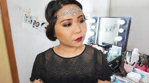 easy 1920s gatsby inspired vine makeup tutorial with revolution palette flawless matte