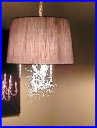 How To Make A Hanging Lamp Out Of Lampshade Lamp Design Ideas