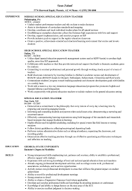 Education On Resume Examples Impressive Special Education Teacher Resume Samples Velvet Jobs