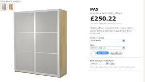 ikea pax sliding door wardrobe flat pack assembly and installation