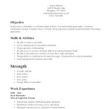 Example Of Resume For Waitress Fascinating Good Resume Examples For Waitress With Food And Beverage Resume