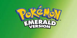 Pokemon Emerald Version - Gameboy Advance (GBA) Rom Download