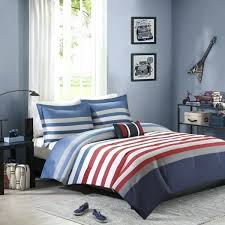 red and white bedding red blue red and white striped bedding uk