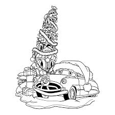 Cars Kleurplaten Takel Redt Kerstfeest Kleurplatenpaginanl