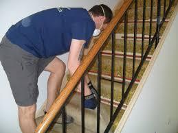 Removing Stair Carpet Refinishing The Stairs Mini Lane