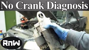 how to diagnose a no crank no start issue nothing or only a click how to diagnose a no crank no start issue nothing or only a click when the key is turned