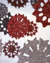 tinsel snowflake video martha stewart