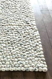 wool and jute rug pebble home by brand area rugs hand woven chunky gray wool and jute rug