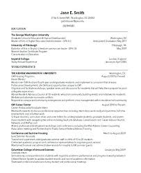 Study Abroad Resume Sample Unique Funding International Research And ...