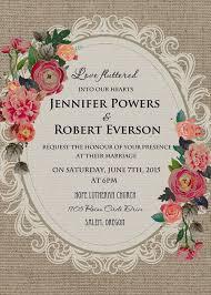 Vintage Wedding Invitation Vintage Wedding Invitations Kinderhooktap Com