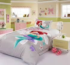 stylish princess ariel grey disney bedding sets disney bedding ariel bed set remodel