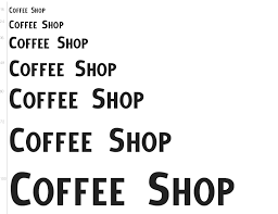 Thanks to dale peart for providing us this cool font family. Free Font Coffee Shop By Doug Sheets