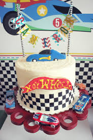 Cars Table Decorations Hot Wheels Birthday Party The Party Porch