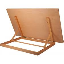 reeves wooden desk easel book stand big