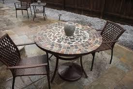 mosaic tile patio table