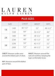 Ralph Lauren Shirt Size Chart Ralph Lauren Mens Shirt