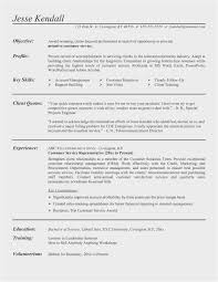 Free Collection 60 Customer Service Resume Template Simple Free