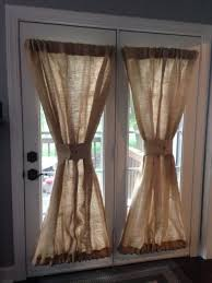 Front Door Window Coverings Door Curtain Panel Black French Door Curtains French Door