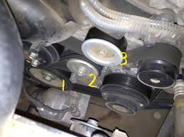 lexus is gs how to replace your serpentine belt clublexus figure 4 tensioner location 2
