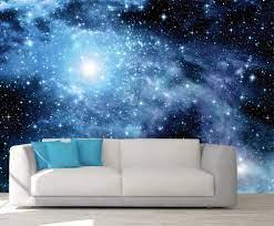 Custom 3D Photo Wallpaper Galaxy MuralS ...